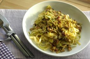 Pasta & Brussels Sprouts 01