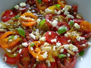 Tomato Salad + Lemon Vanilla Dressing 05