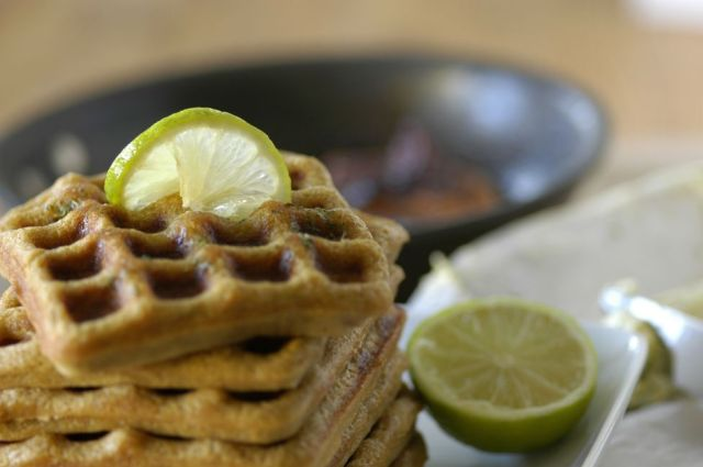 Beer + Lime Waffles 00