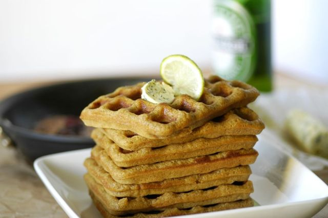 Beer + Lime Waffles 01a