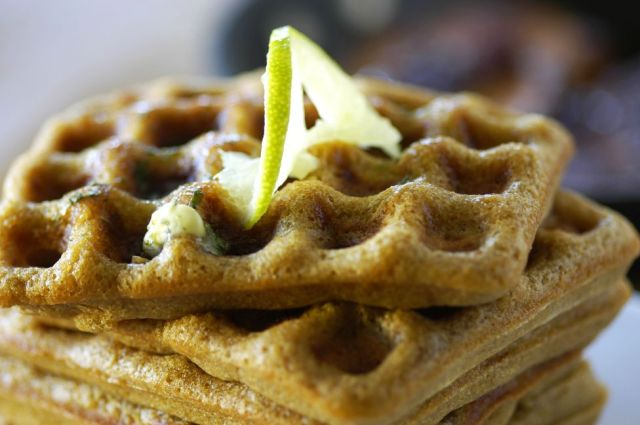 Beer + Lime Waffles 05