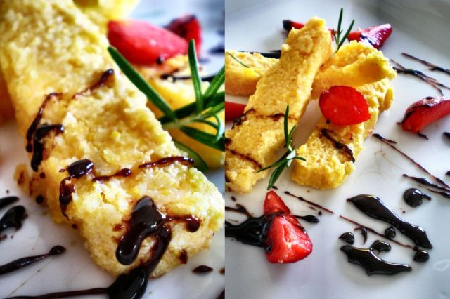 Polenta Slices + Balsamic Strawberries 03