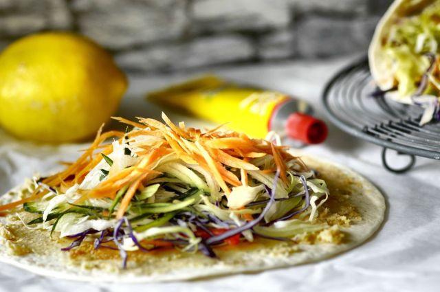 Salad Wrap 02