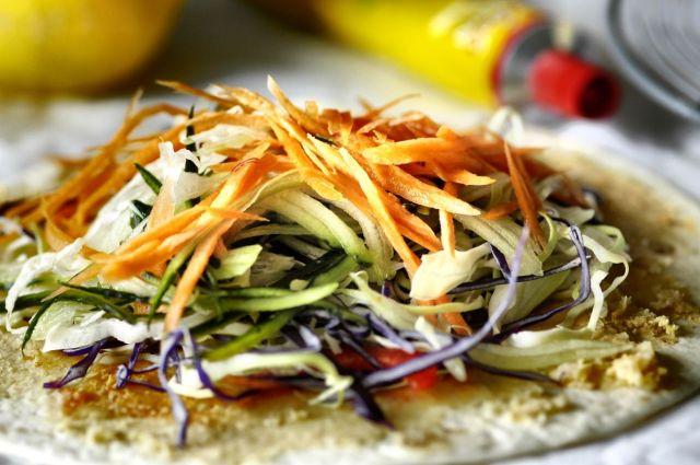 Salad Wrap 04