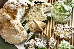 Dips + Soda Bread 01
