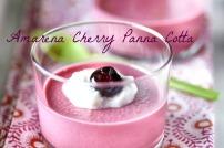 Amarena Cherry Panna Cotta