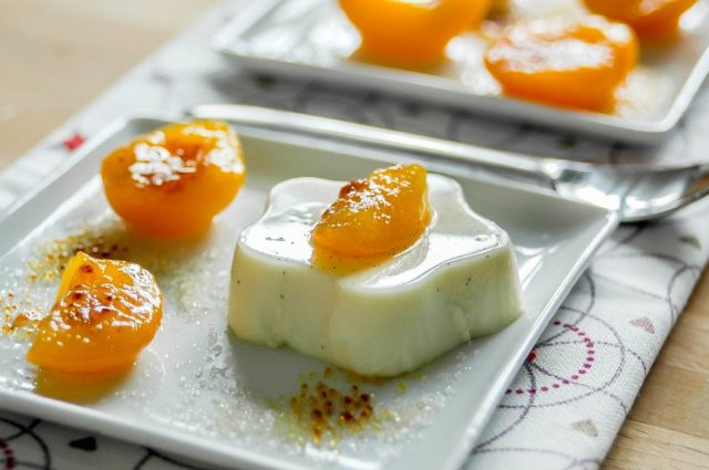 Apricot Panna Cotta 02
