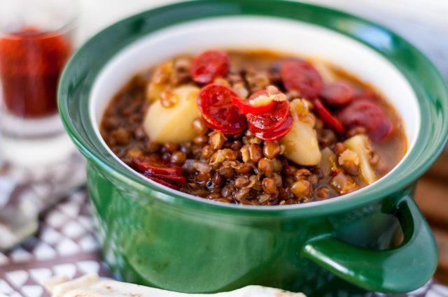 Mountain Lentil Soup 01