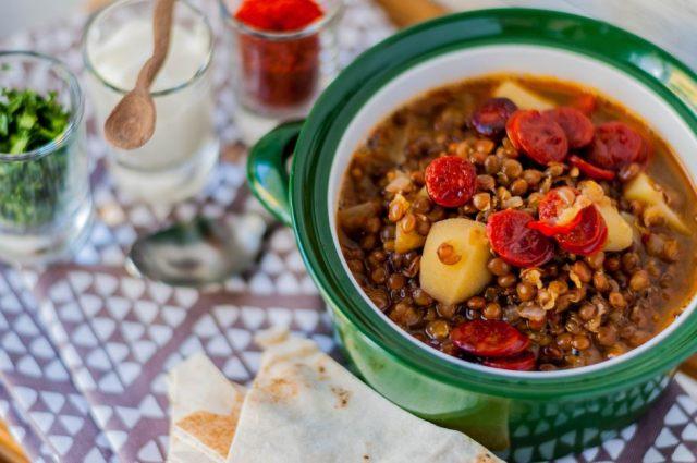 Mountain Lentil Soup 02