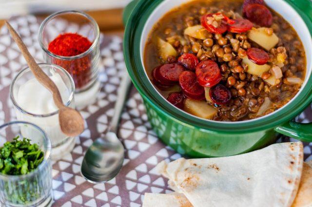 Mountain Lentil Soup 03