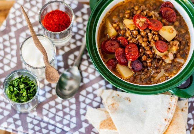 Mountain Lentil Soup 04