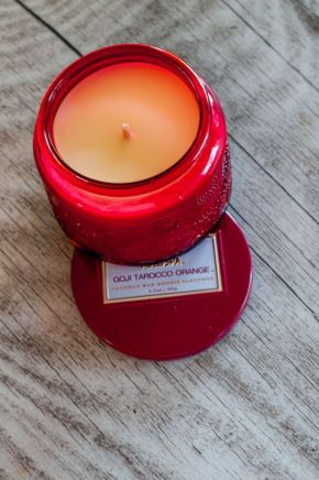 DFN - Living - Orange Scented Candle