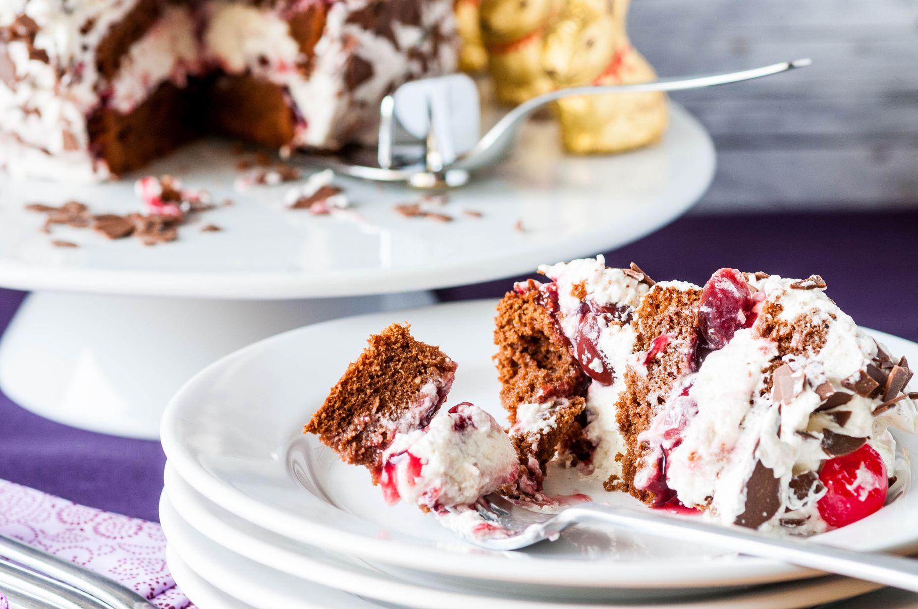 Mini Black Forest Torte | Dinner for (n)one