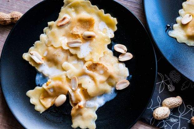 Sweet Potato + Wasabi Ravioli 03