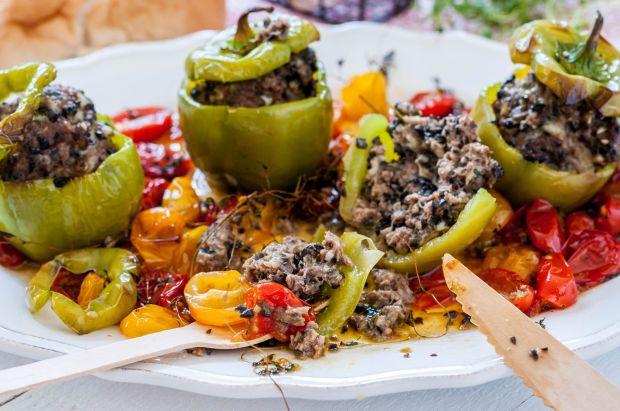 Meat Stuffed Green Mini Peppers 02