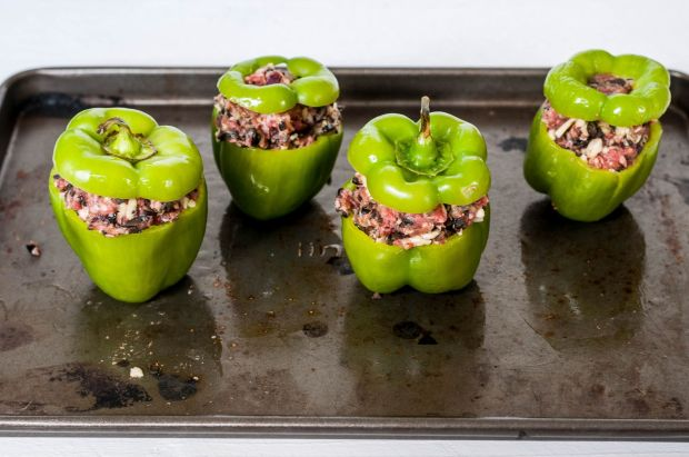 Meat Stuffed Green Mini Peppers 05
