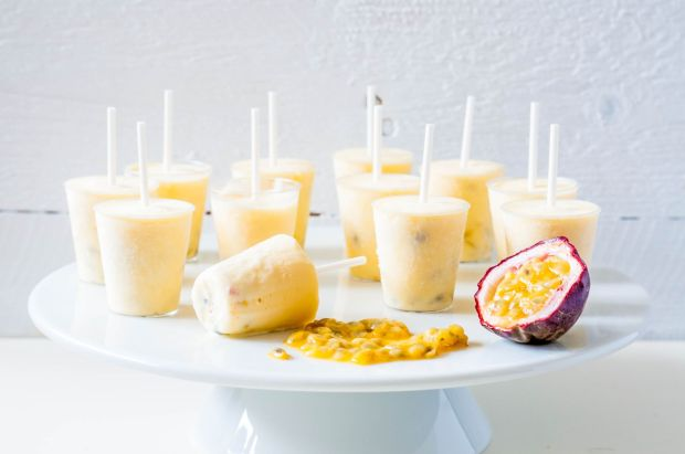 Passion Fruit Ice Cream 05