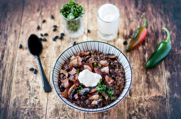 Quinoa + Black Bean Chilli 03