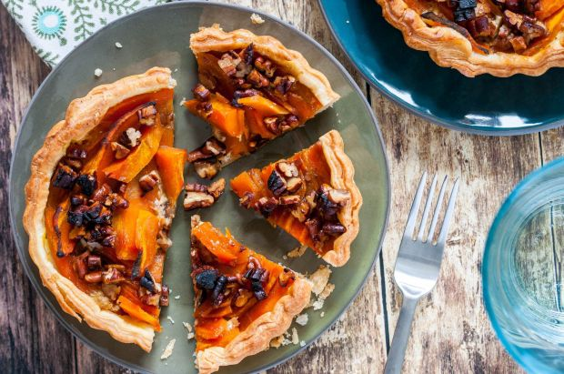 Pumpkin Pecan Tartlets 01