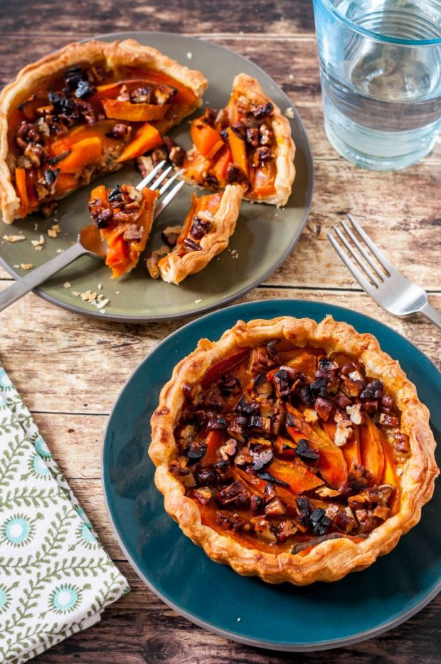 Pumpkin Pecan Tartlets 02