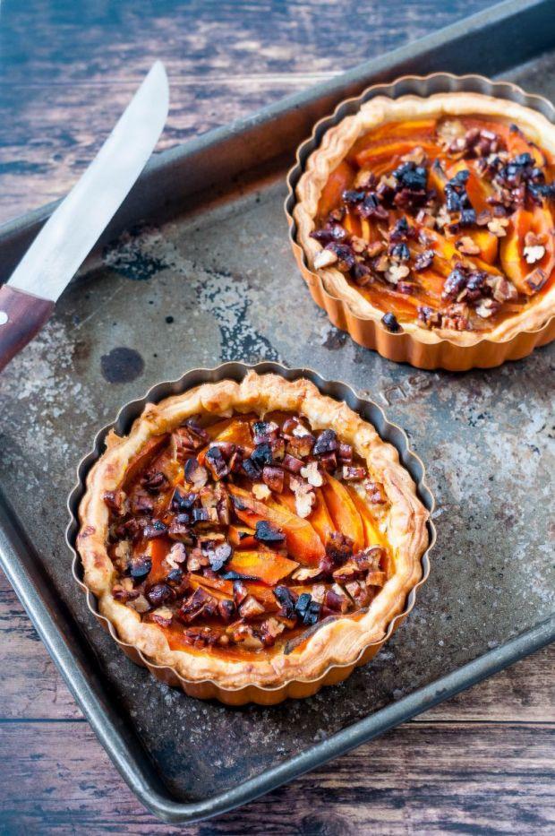 Pumpkin Pecan Tartlets 05