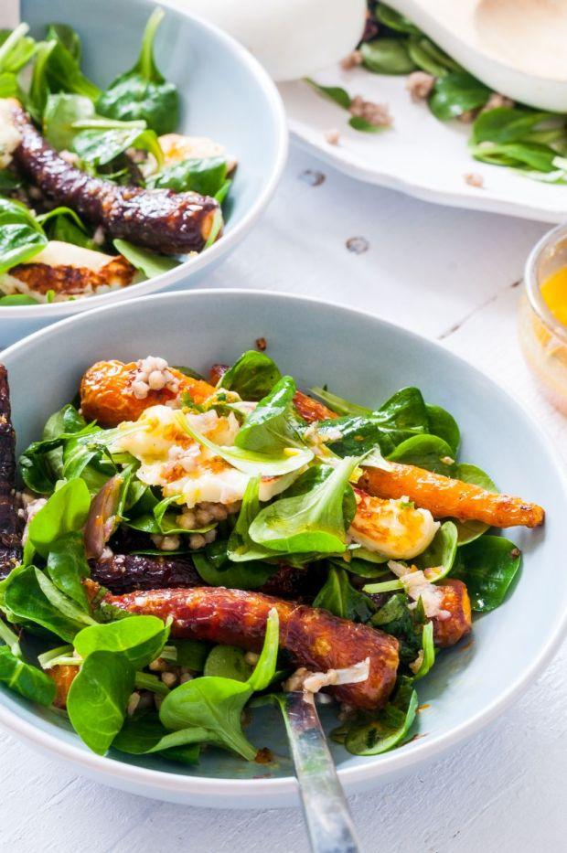 Violet Carrot Salad 02