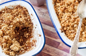 Pear + Ginger Crumble 03c